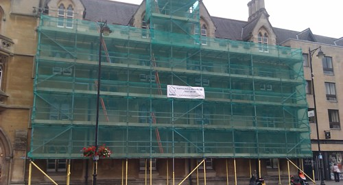 Scaffolding - Exeter College